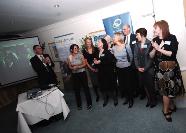 Andrew Holland and the Cornwall Pure Business team