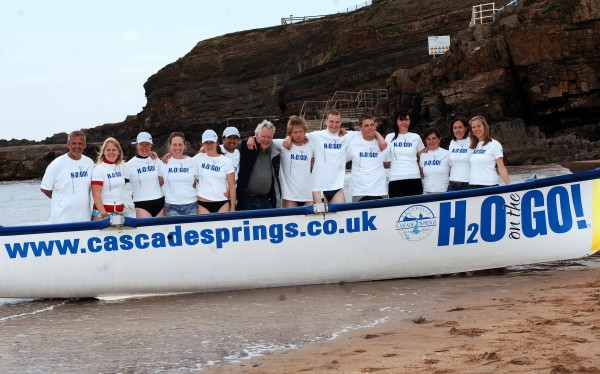 Cascade-sponsored Bude Surf Boat Club