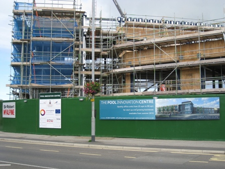 Work continues on the Pool Innovation Centre