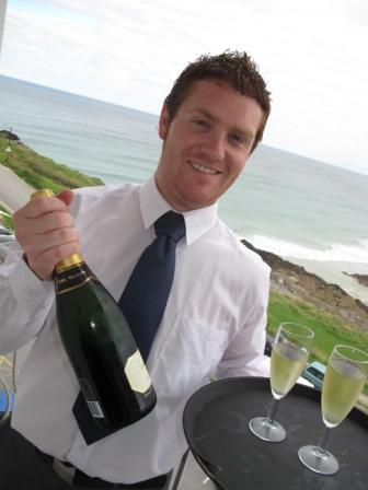 Bay Hotel restaurant manager Chris Le Friec