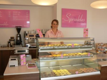 Sprinkles manager Andrea Cornish