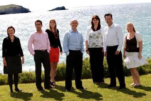 The DCA team from L-R: Laura Tregonning, Ryan Martinez, Laura McKay, John Casey, Shelley Fletcher, Jason Clark and Sam Searle.