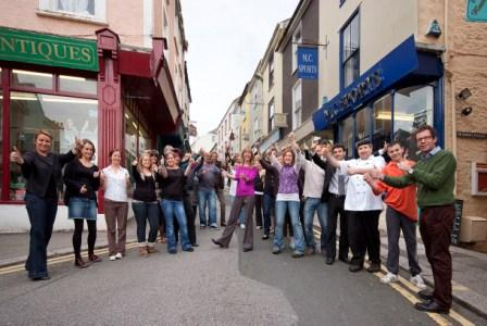 Falmouth High Street traders