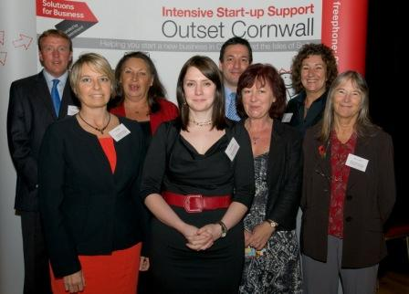 The Outset Cornwall team