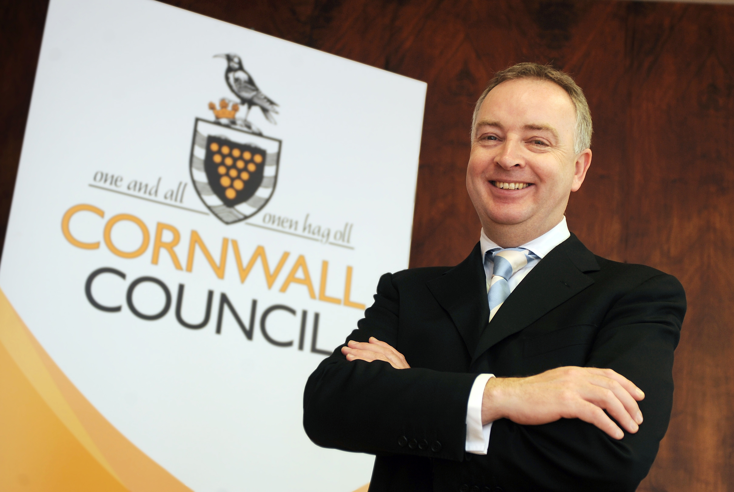 Kevin Lavery, chief executive at Cornwall's recently established unitary autority