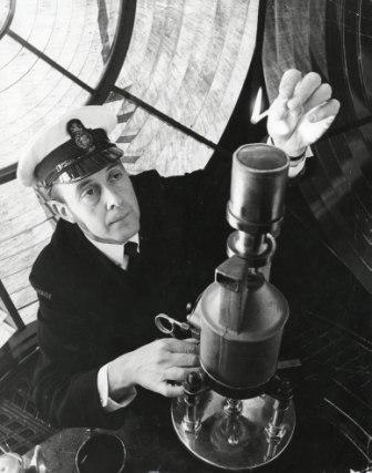 Assistant Lighthouse Keeper Tony Marsh (c) Peter Ekin-Wood