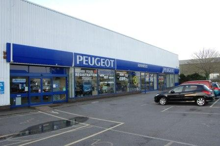The latest addition to the Helston Garages expire - Renwicks Peugeot in Exeter