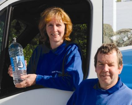 Just Water owners Pauline and Colin Dyer