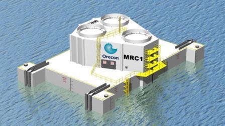Artist's impression of Orecon's MRC device