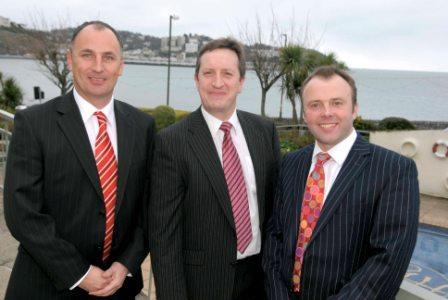 (L-R) Directors Jon Williams, Mark Flynn and Julian Partridge