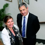 (L to R) Suzanne Bond, Chief Executive of Cornwall Development Company and Mark Stubbs, joint managing partner of Stephens Scown 1