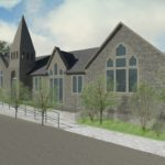 Artists Impression of Front of Building
