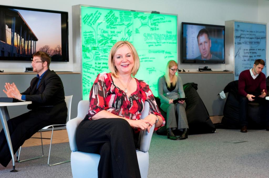 Falmouth University CEO Anne Carlisle