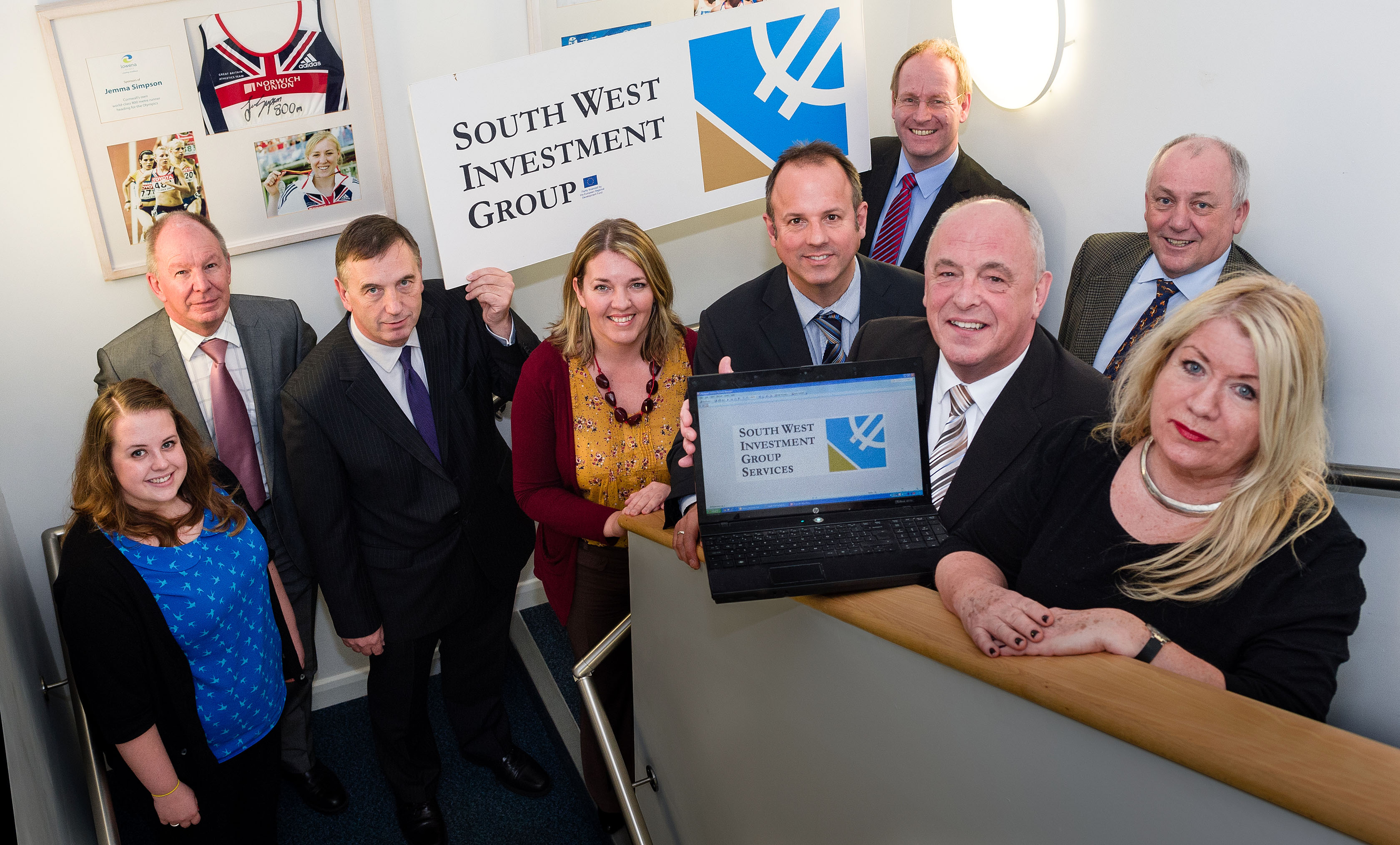 The new SWIG with Bristol Enterprise team, which was formed after Bristol Enterprise Development Fund became part of South West Investment Group.