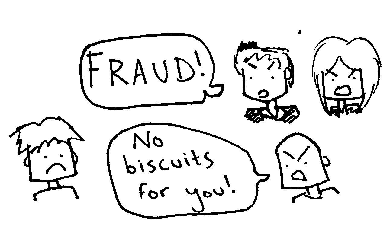 business blog fraud