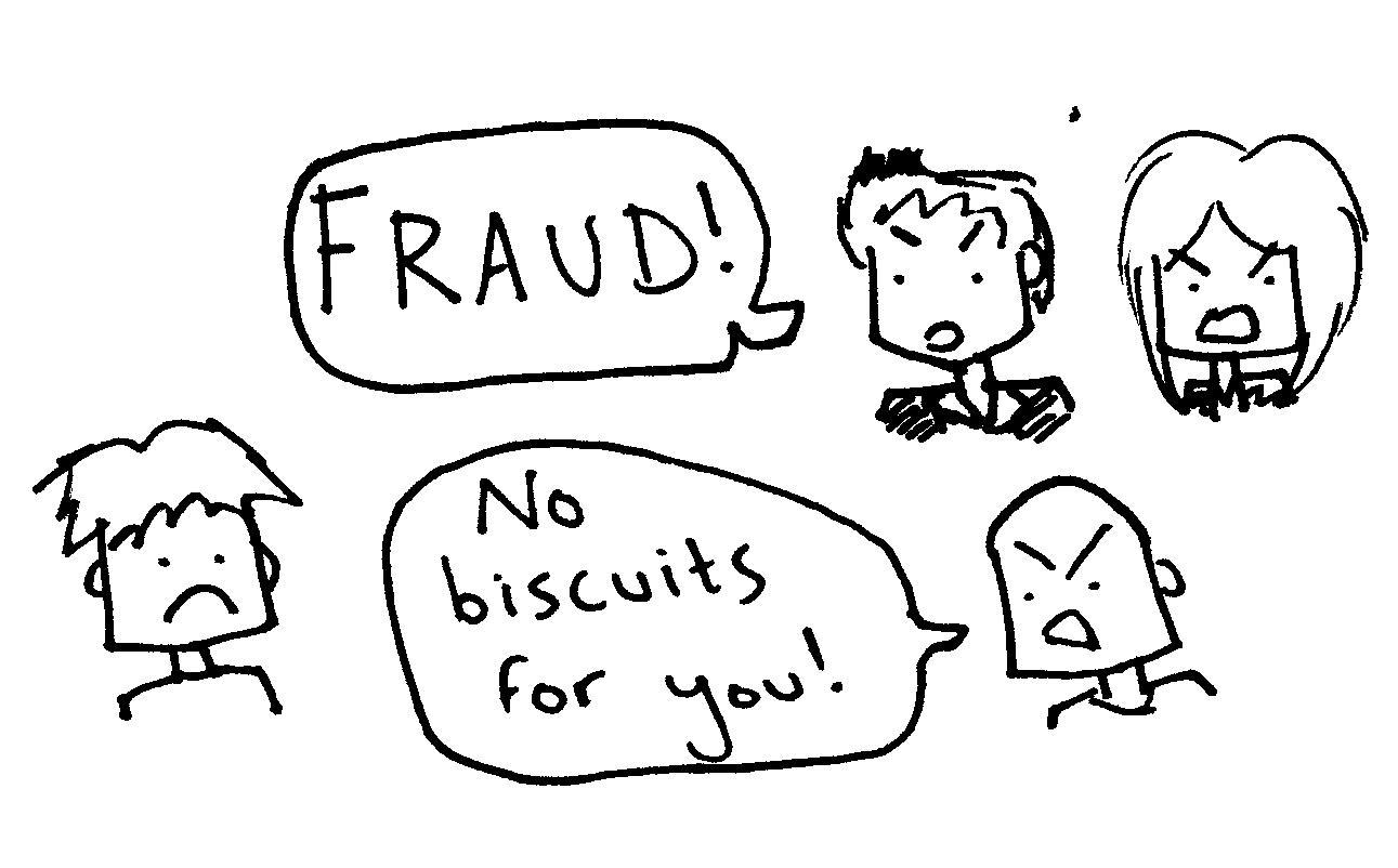 business blog fraud