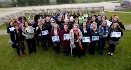 Winners from this year's Healthy Workplace Awards