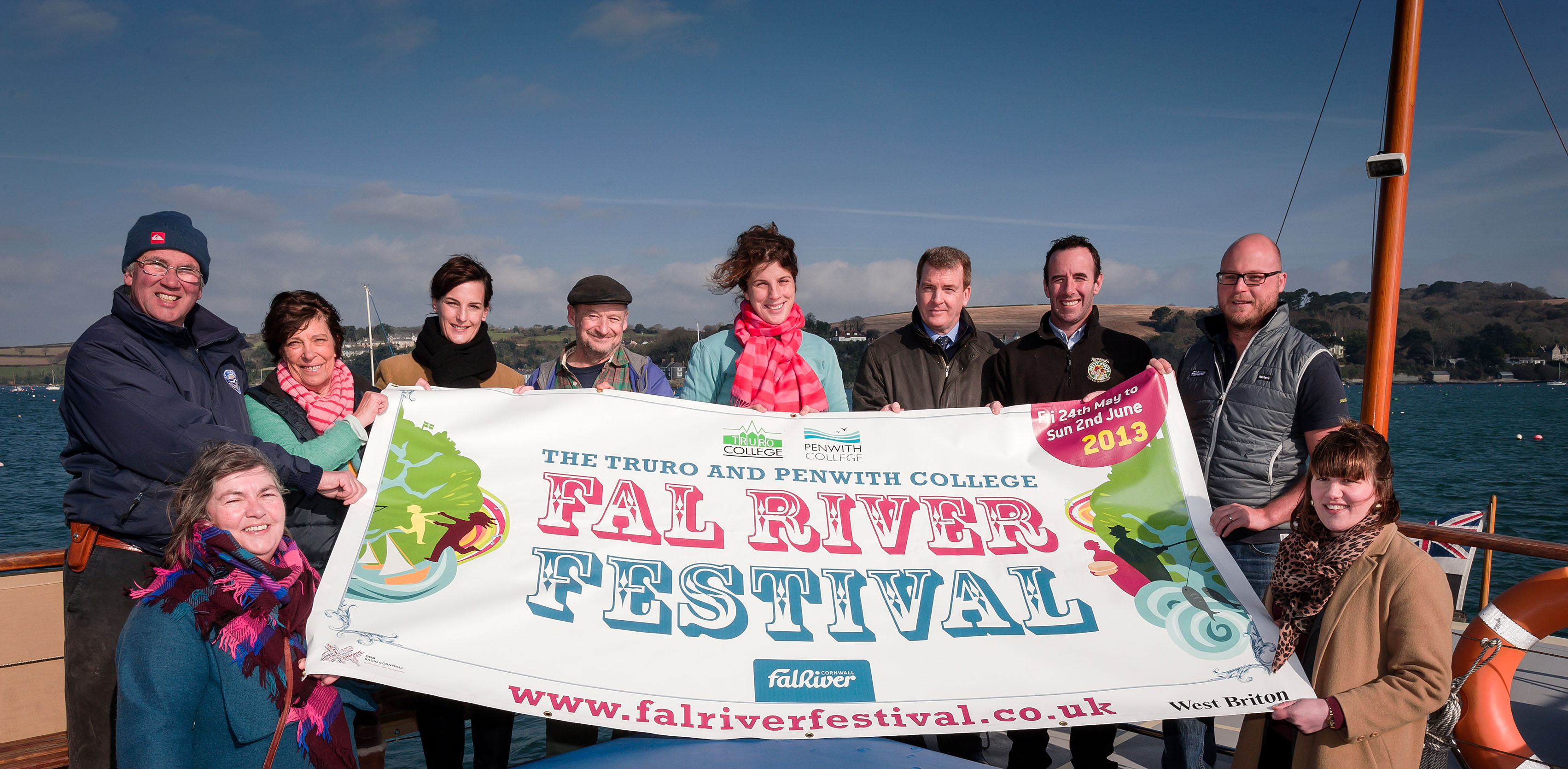 The Fal River Festival team officially unveil details of the 2013 event