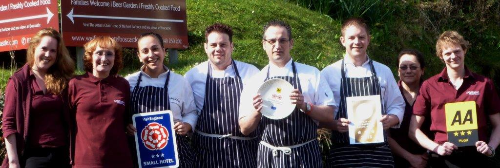 Team from the Wellington Hotel and Waterloo Restaurant