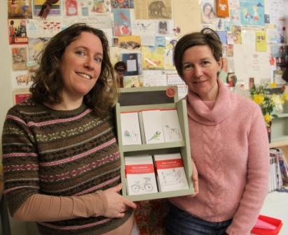 Poppy Treffry (l) and Sara Eckersley