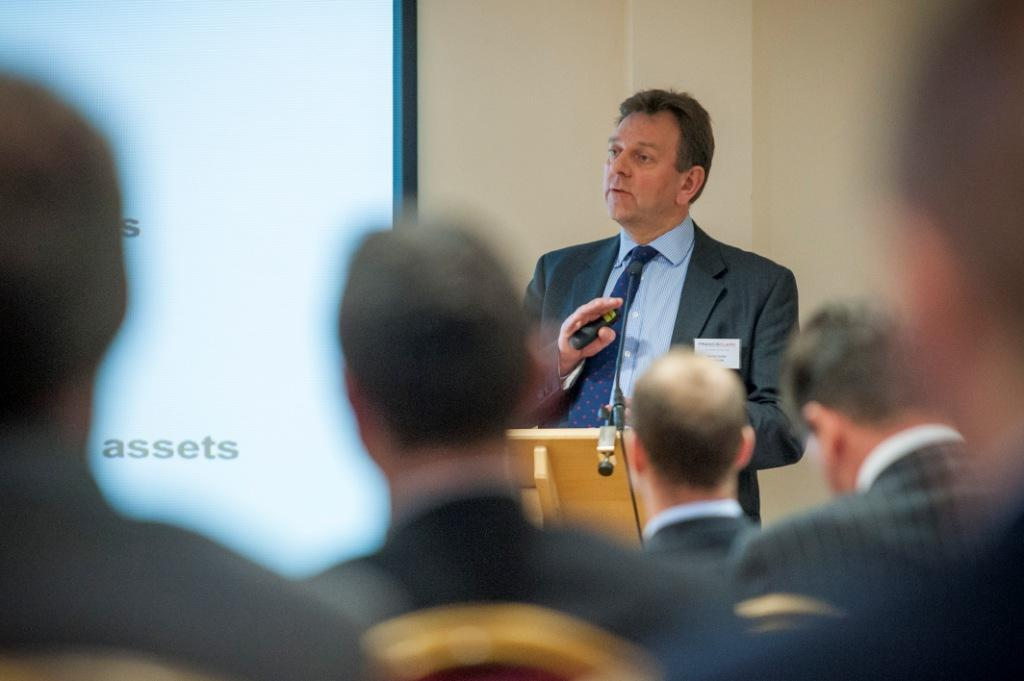 Santander's Martin Drake, one of the speakers at this year's Finance in Cornwall