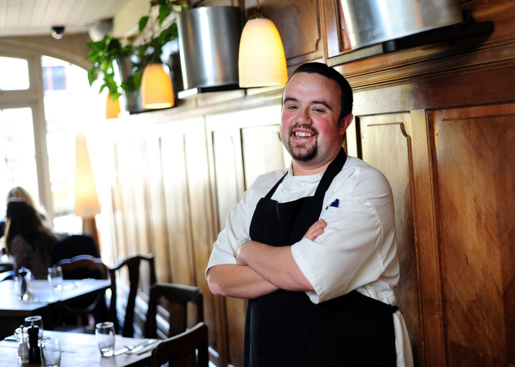 Bustophers' new head chef, Matt Long