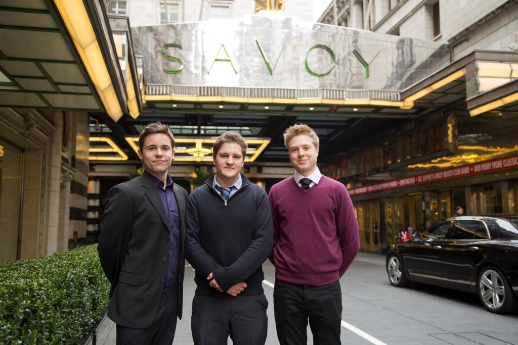 PixelRain team (L-R): Grant Batty, Richard Stephens and Nicholas Pearson