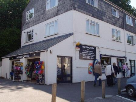 The former Emporium in St Mawes