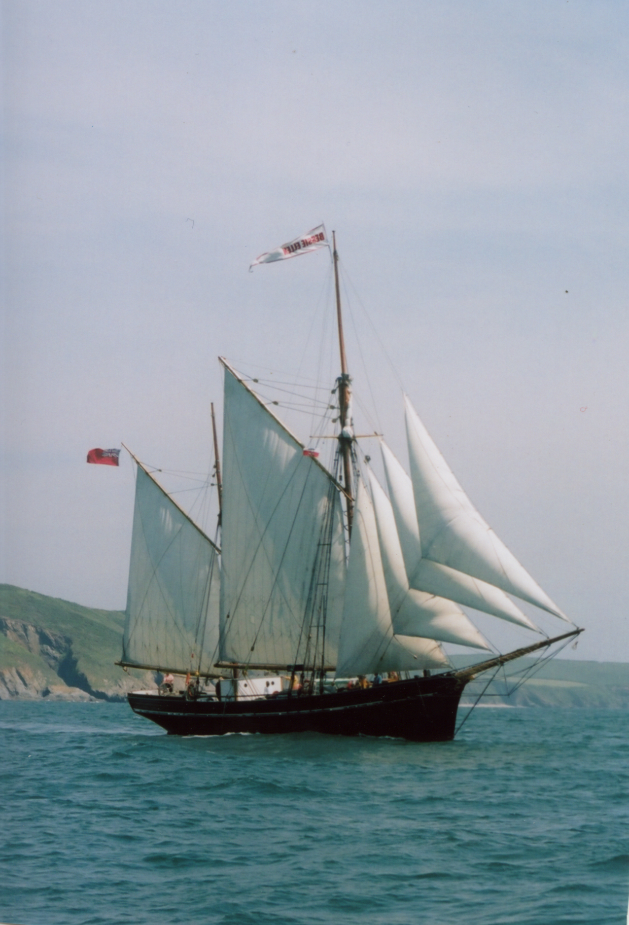 The tall ship, Bessie Ellen, will be joining the Beer Fleet celebrations to mark the start of the Truro and Penwith College Fal River Festival