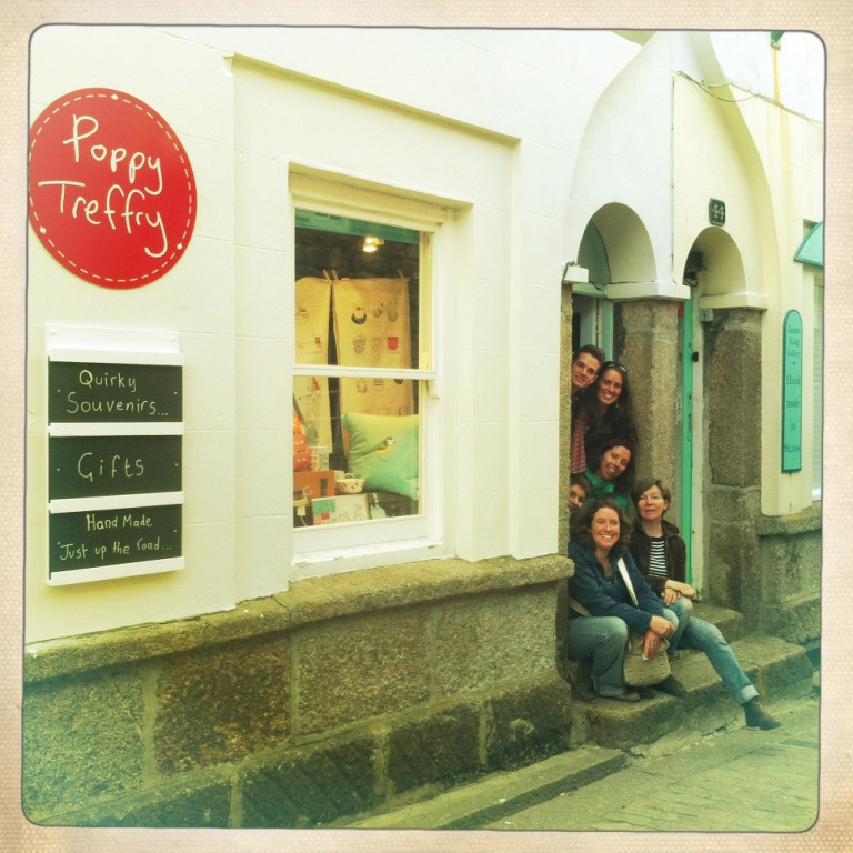 The new Poppy Treffry store in St Ives