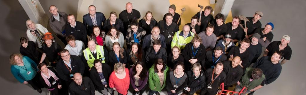 The Falmouth Exeter Plus Estates & Development Services team