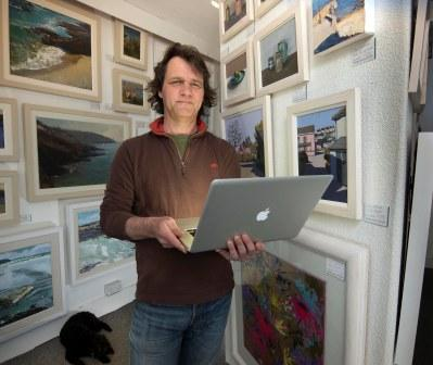 Mark Hatwood at the Harbour Gallery