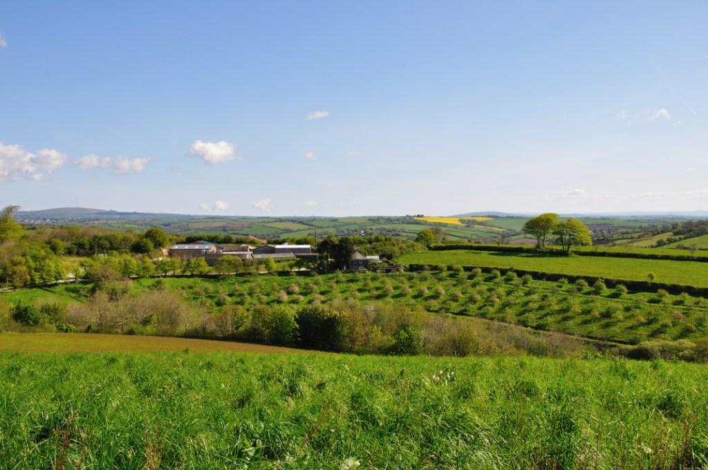 Cornish Orchards' base at Westnorth Manor Farm