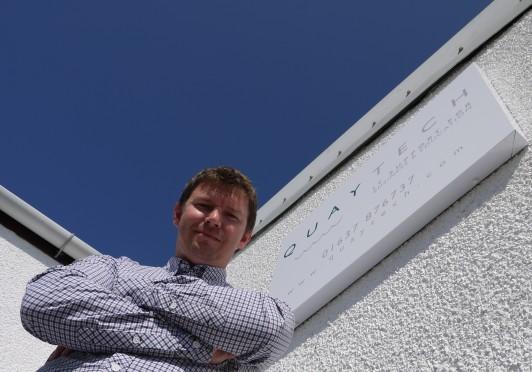 Matt Waterton at Quaytech