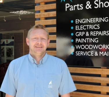 Marine Team engineering manager Nathan Percival