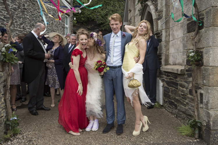 A scene from About Time, shot on location in Cornwall