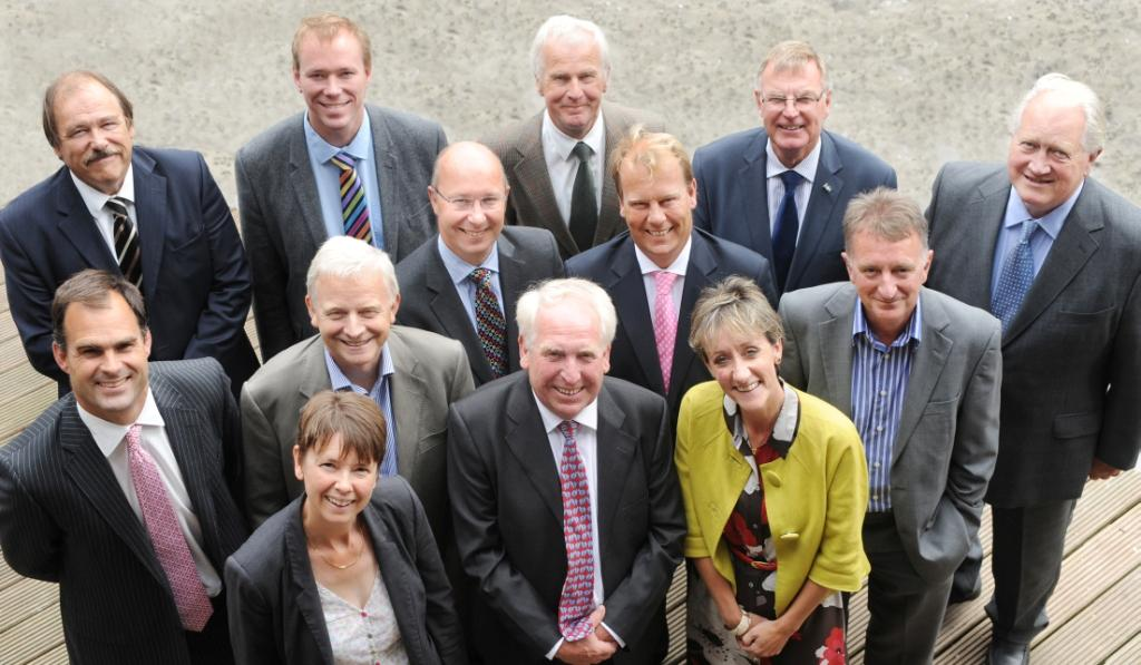 Members of the LEP board