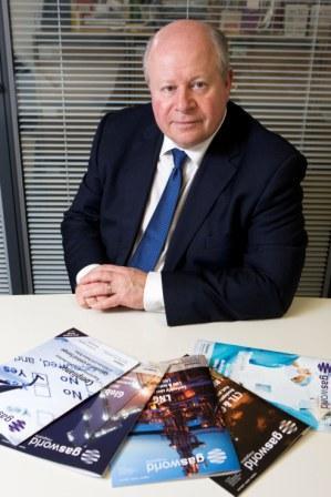 gasworld CEO, John Raquet