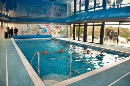Bosinver's new indoor swimming pool