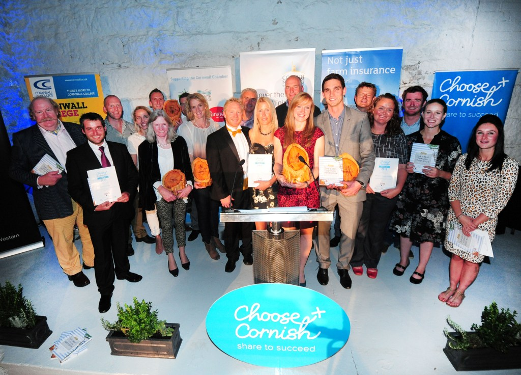 Winners and finalists from the Choose Cornish Awards
