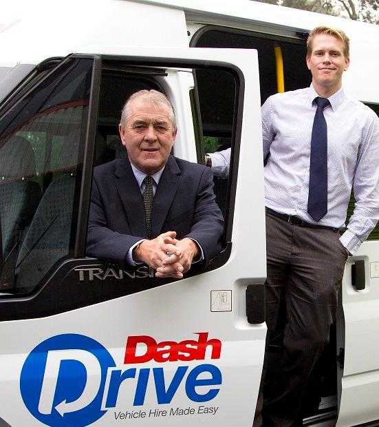 L-R: Pete Theisinger, sales manager of Dash Drive and Paul Dash, director of The Dash Group