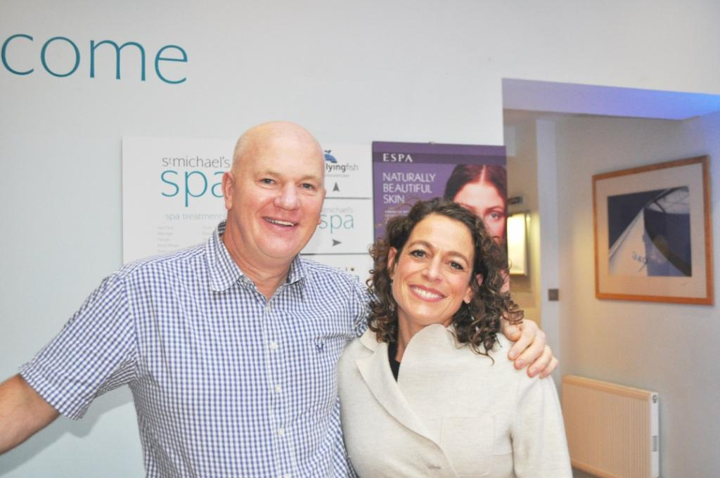 Nigel Carpenter and Alex Polizzi