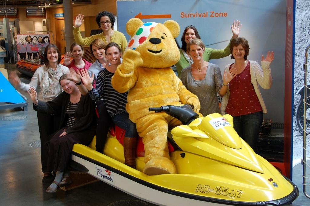 BBC Children in Need is coming to the Maritime Museum