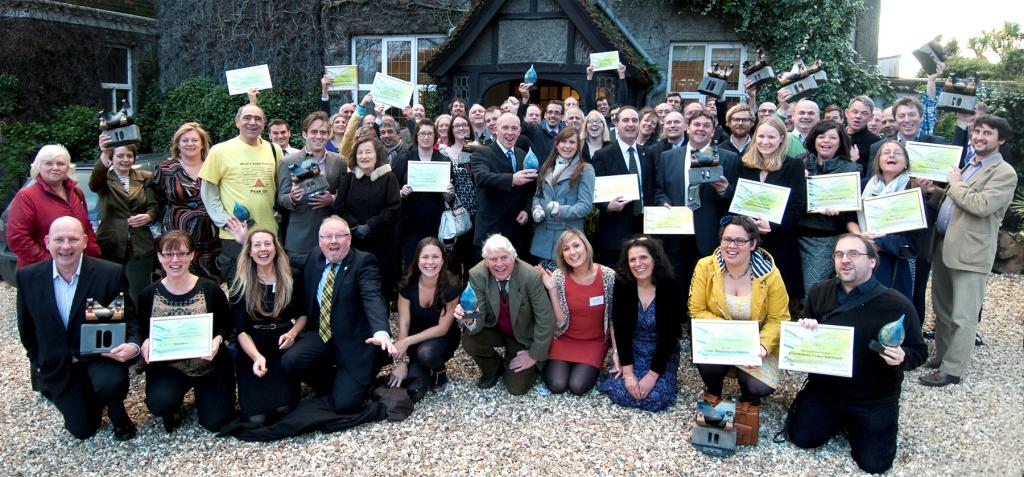 Winners from last year's Cornwall Sustainability Awards