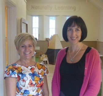 Natural Learning directors Mandy Richardson and Judith Chapman