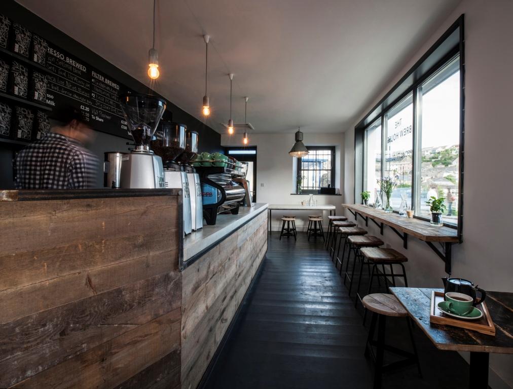 Origin coffe shop interior design