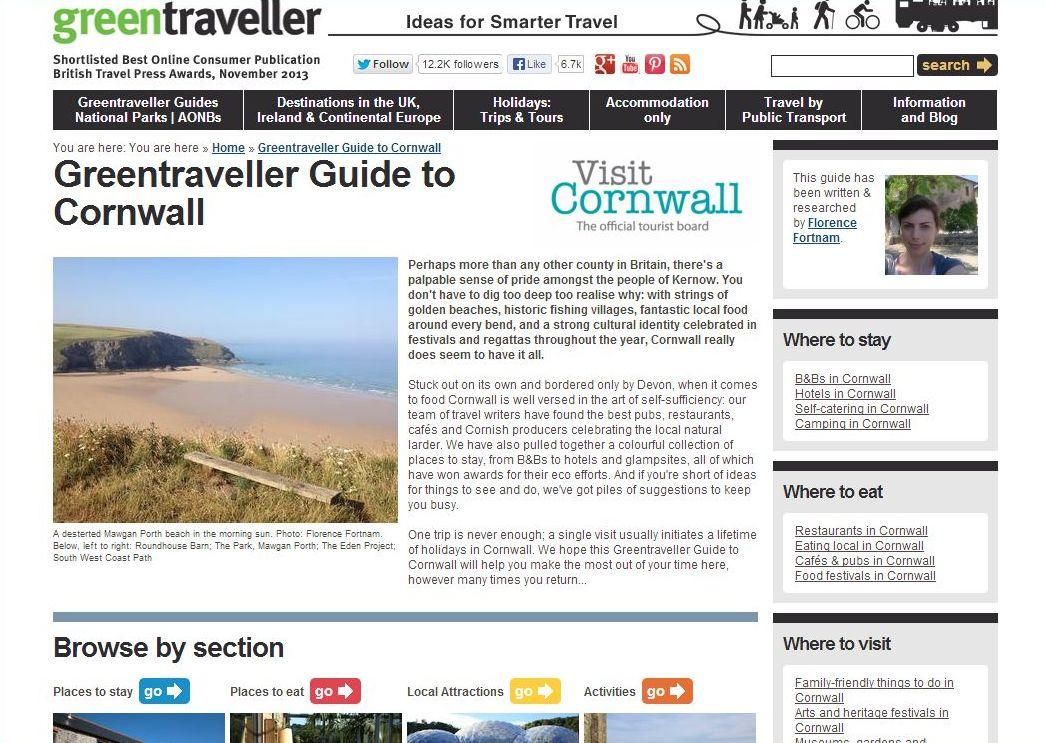 green traveller