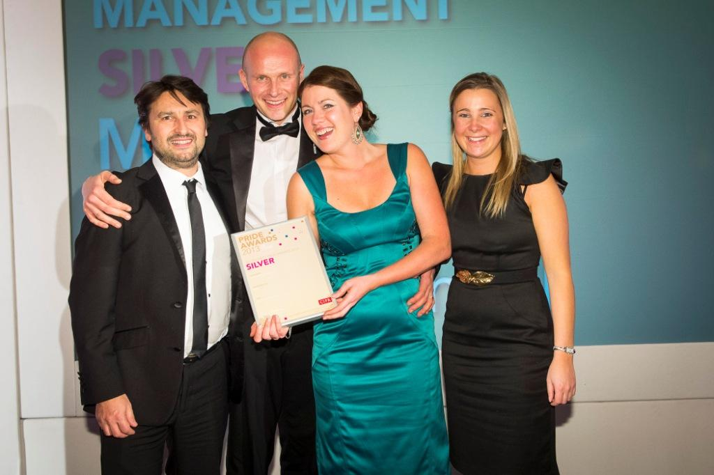 The MPAD team at the CIPR Awards on Friday night