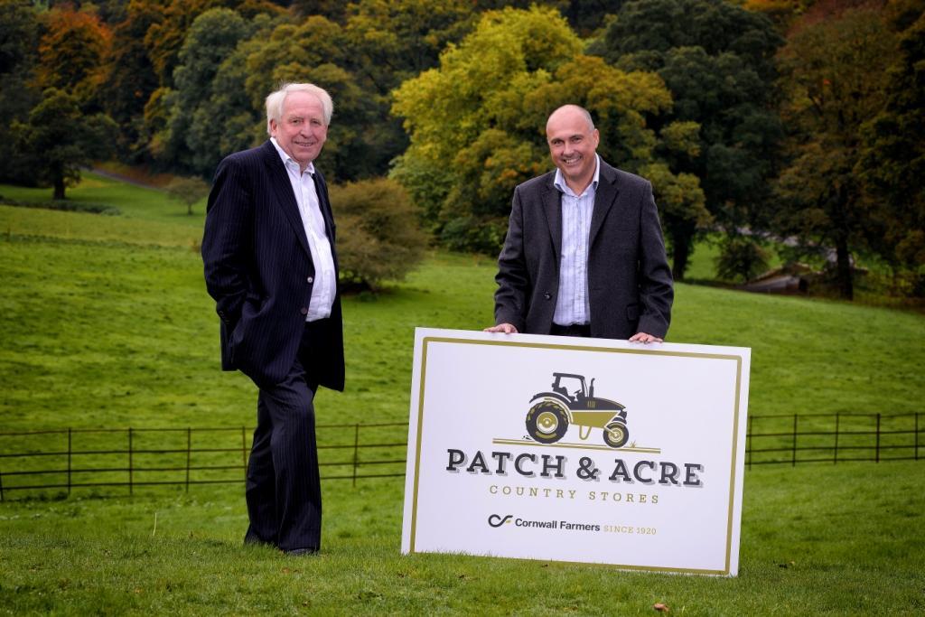 LEP chairman Chris Pomfret (l) with Cornwall Farmers CEO, Simon Birch