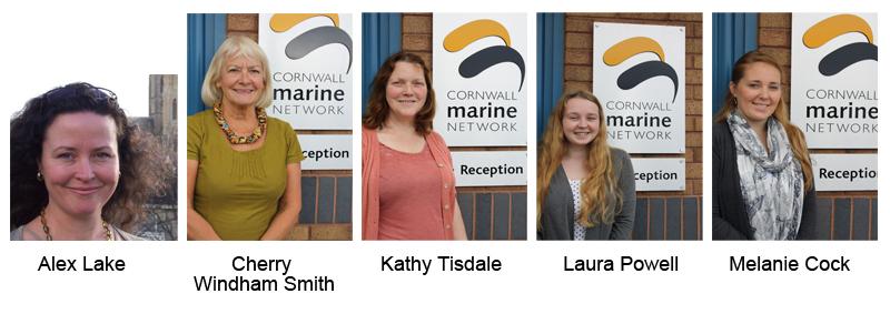 New Cornwall Marine Network Staff